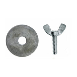 Manola Wingnut & Washer
