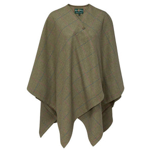 Combrook Ladies Tweed Wrap - Juniper