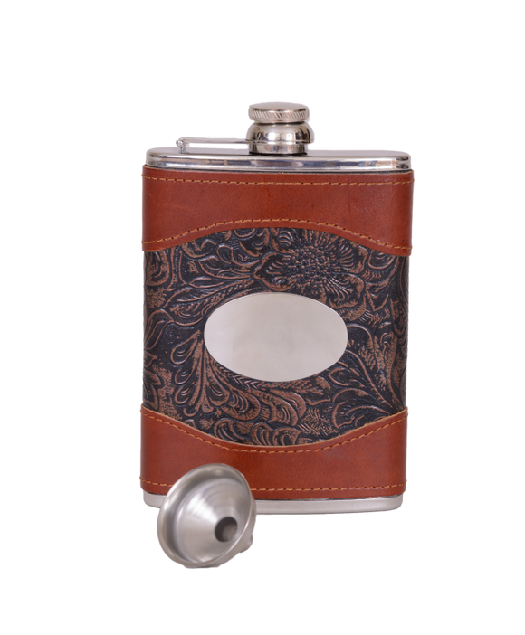 Bonart 8oz Fancy Hip Flask