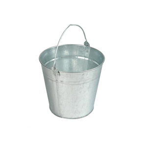 12L Galvanised Bucket