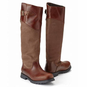 Houston Boot - Chestnut Brown