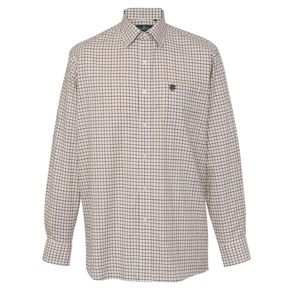 Ilkley Childrens Check Country Shirt - Red Check