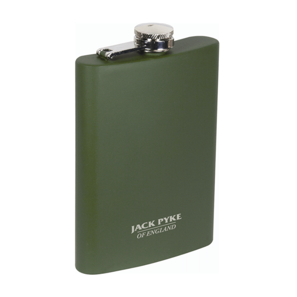 Stainless Steel Hip Flask - Green
