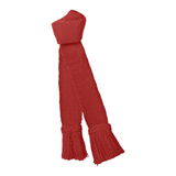 Wool Plain Garter - Ruby