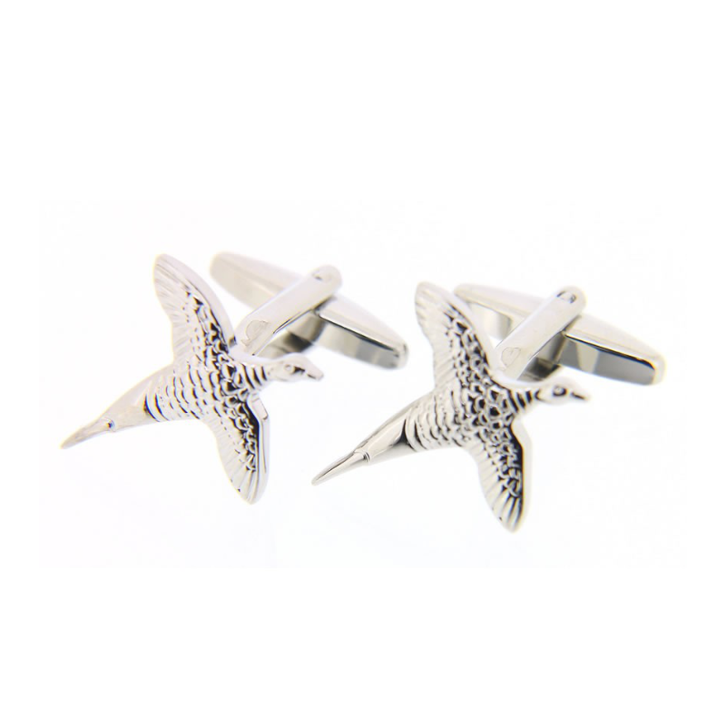 Country Cufflinks - Flying Pheasant