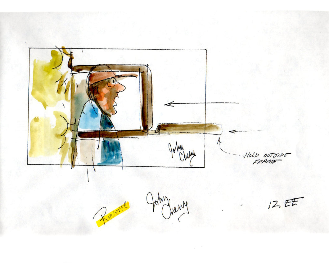 Opening Sequence, Magnetic Ernest - Ernest Goes to Jail Storyboard - SBJ011