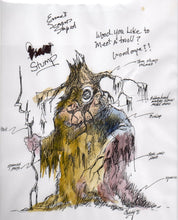 Stump - Ernest Scared Stupid Pre-Production Troll Design - SBS012