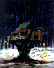 Tree House - Ernest Scared Stupid Pre-Production Design - SBS030