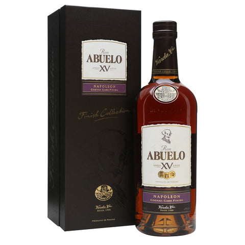 Acquista Rum Abuelo Rum 15 years Finish Collection Napoleon