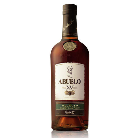 Acquista Rum Abuelo Rum 15 years Finish Collection Oloroso