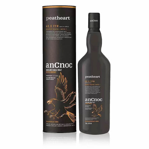 Acquista Whisky anCnoc Peatheart Highland Single Malt