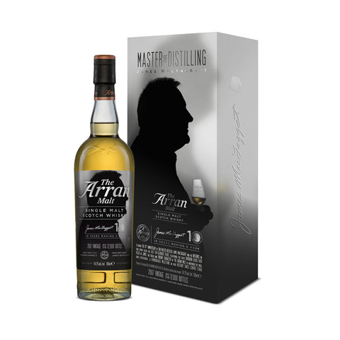 Acquista Whisky Arran 2007 James MacTaggart 10th Anniversary Edition
