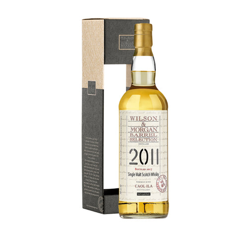 Acquista Whisky Caol Ila 2011-2018 1st Fill Bourbon Barrel - Wilson & Morgan