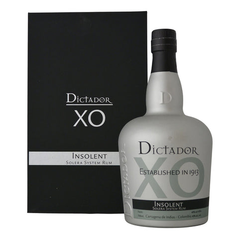 Acquista Rum Dictador Rum XO Insolent