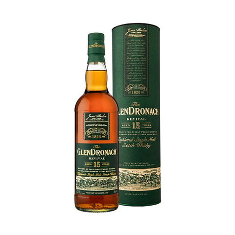 Acquista Whisky GlenDronach Revival 15 years old