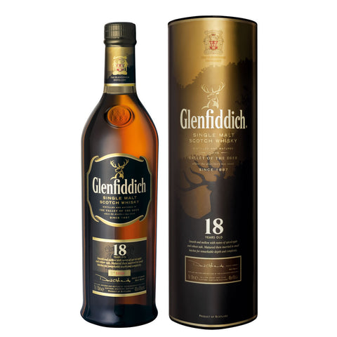 Acquista Whisky Glenfiddich 18 years old