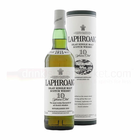Acquista Whisky Laphroaig 10 years old Islay Single Malt