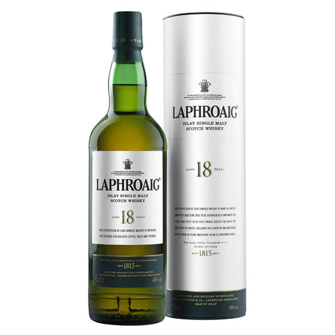 Acquista Whisky Laphroaig 18 years old Islay Single Malt