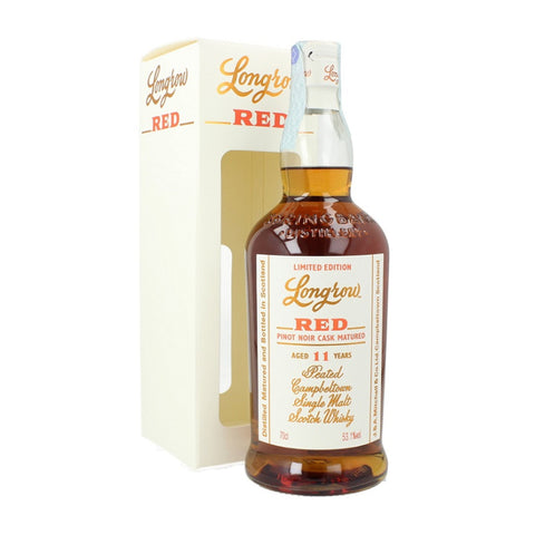 Acquista Whisky Longrow Red 11 years old  Pinot Noir Cask Finish
