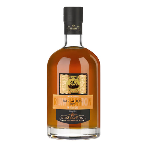 Acquista Rum Rum Nation Barbados 10 years old