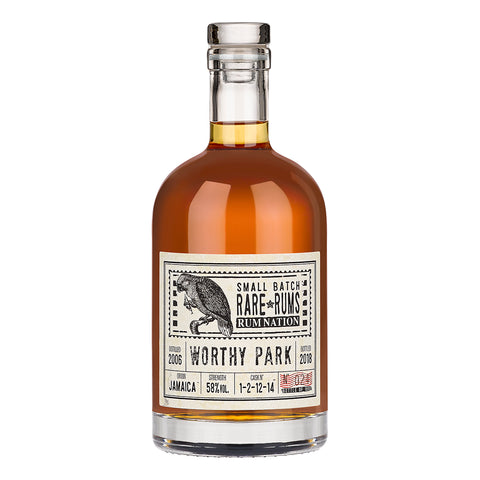 Acquista Rum Rum Nation Worthy Park 2006 - 12yo - Rare Rums