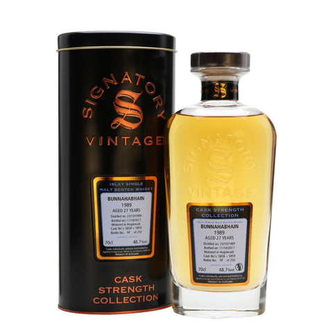Acquista Whisky Signatory Bunnahabhain 1989 27 years old