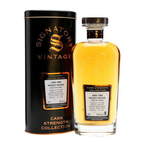 Acquista Whisky Signatory Isle of Jura 1989 26 years old