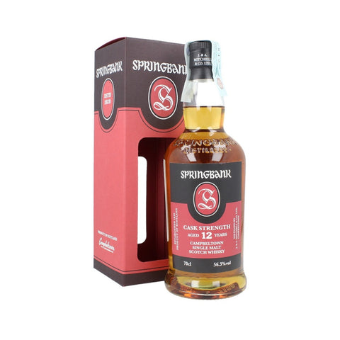 Acquista Whisky Springbank 12 years old Cask Strength - Batch 16