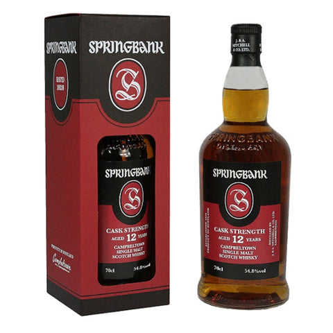 Acquista Whisky Springbank 12 years old Cask Strength - Batch 18