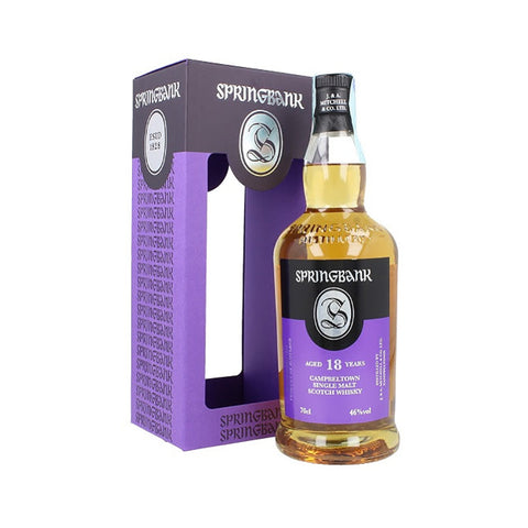 Acquista Whisky Springbank 18 years old - Release 2018