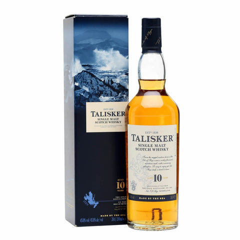 Acquista Whisky Talisker 10 years old Single Malt Scotch Whisky