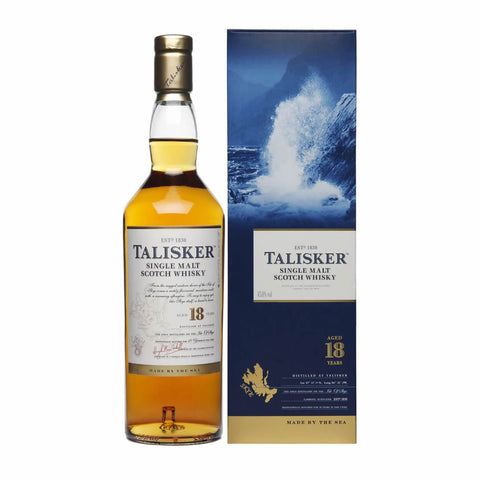 Acquista Whisky Talisker 18 years old Single Malt Scotch Whisky