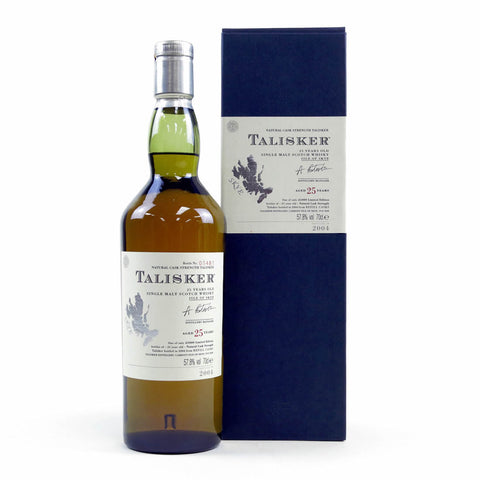 Acquista Whisky Talisker 25 years old 2004 Edition