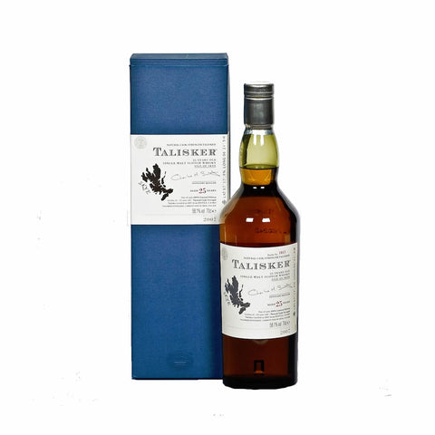 Acquista Whisky Talisker 25 years old 2007 Edition