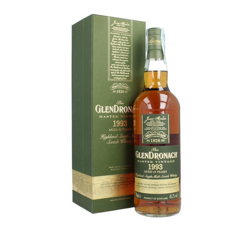 Acquista Whisky The GlenDronach 1993 Master Vintage 25 years old