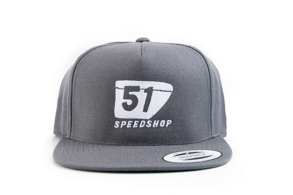 51 Badge Snapback Wool - Flat Bill