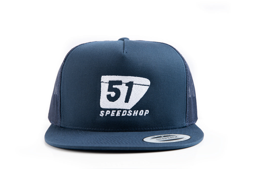 51 Badge Snapback Trucker - Flat Bill