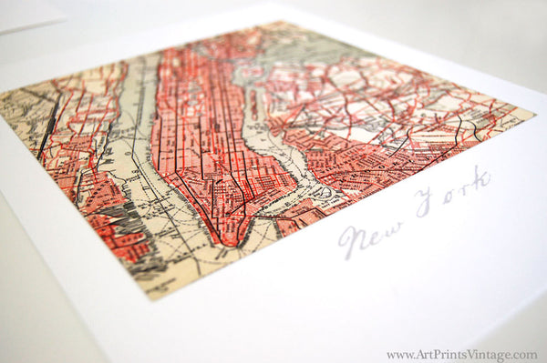 Personalized map gift idea