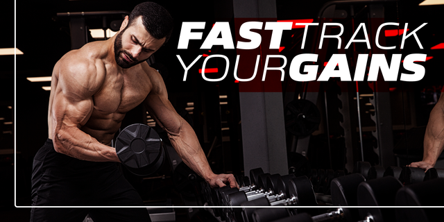 Fast-Track Your Way to Muscle Gain