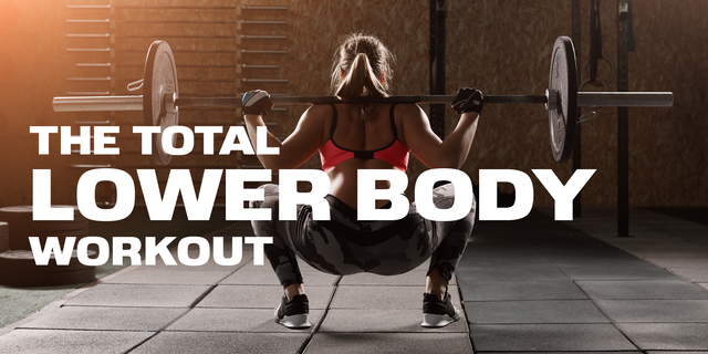Your Total Lower Body Workout