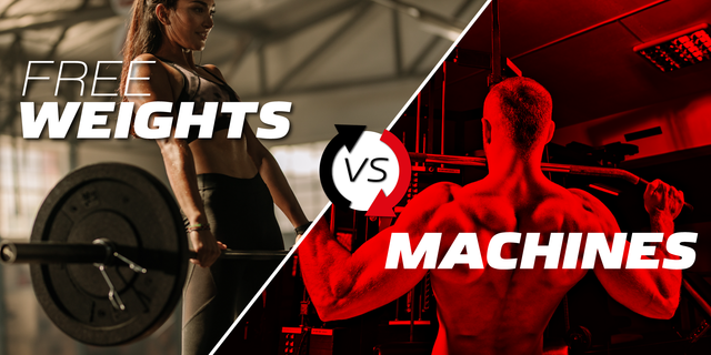 Free Weights Vs. Resistance Machines