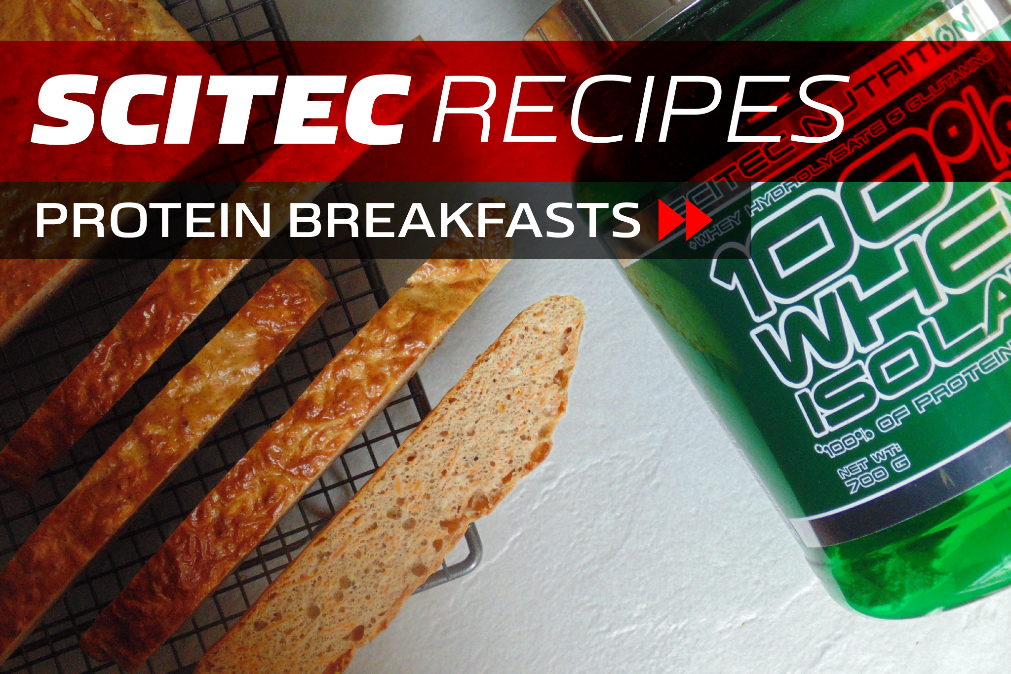Scitec Recipes: Easy Protein Breakfasts