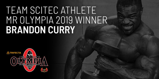 The New Mr Olympia is Scitec Nutrition Athlete Brandon Curry