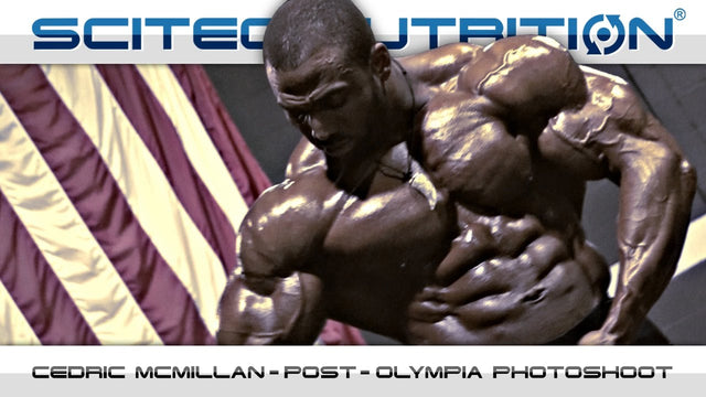 Cedric McMillan – Post-Olympia Photoshoot