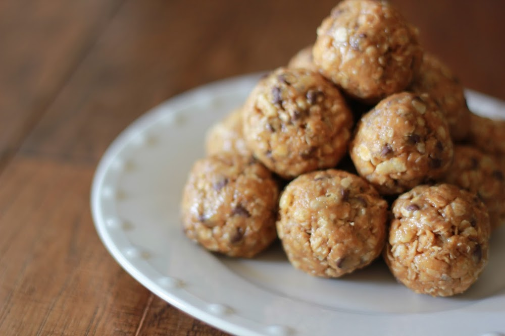 Soft, Chewy Breakfast Balls