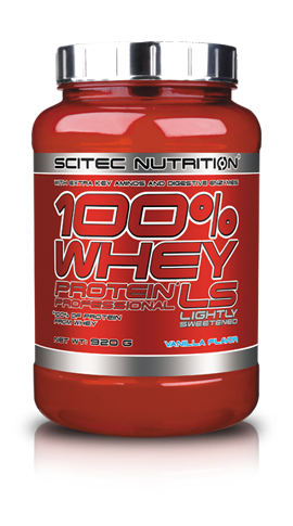 100% Whey Protein Professional Lightly Sweetened