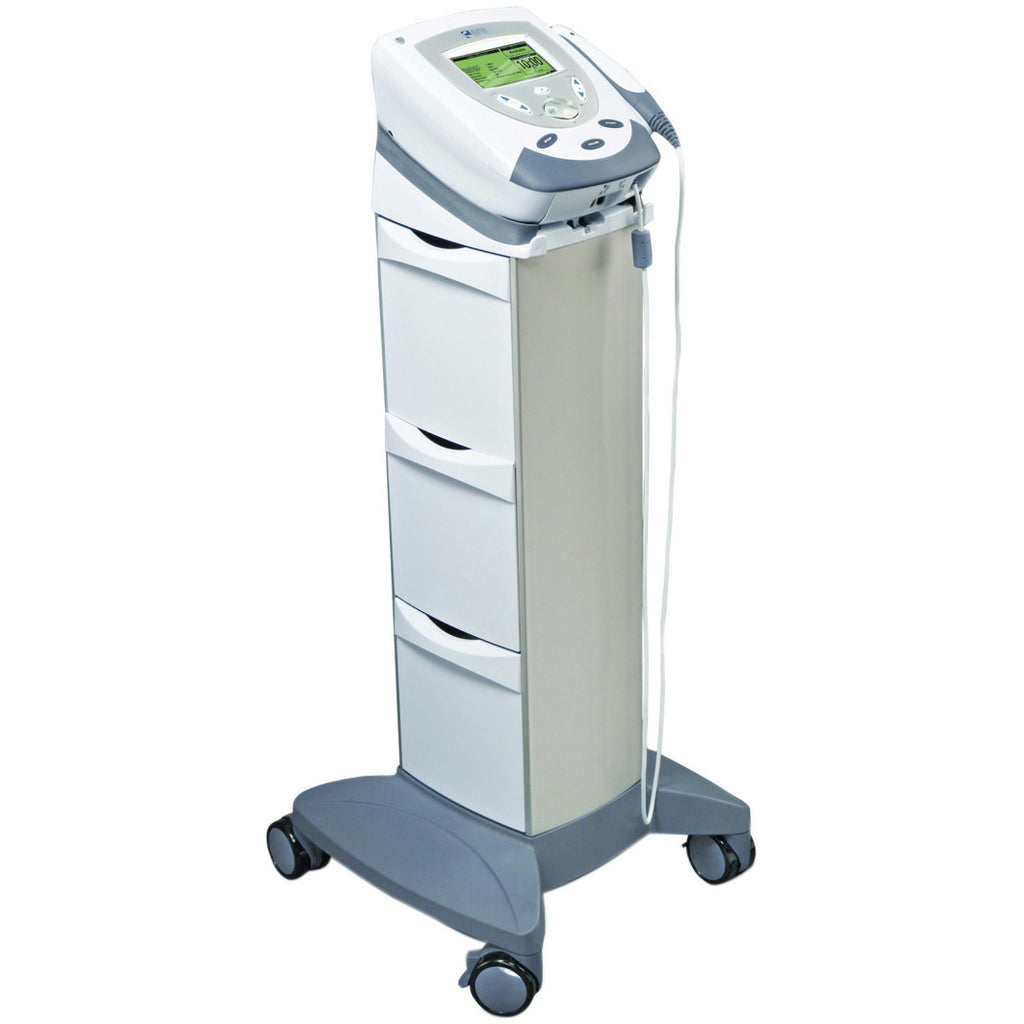 Intelect® Transport - Stim / Ultrasound system with 5 cm head and mobile cart