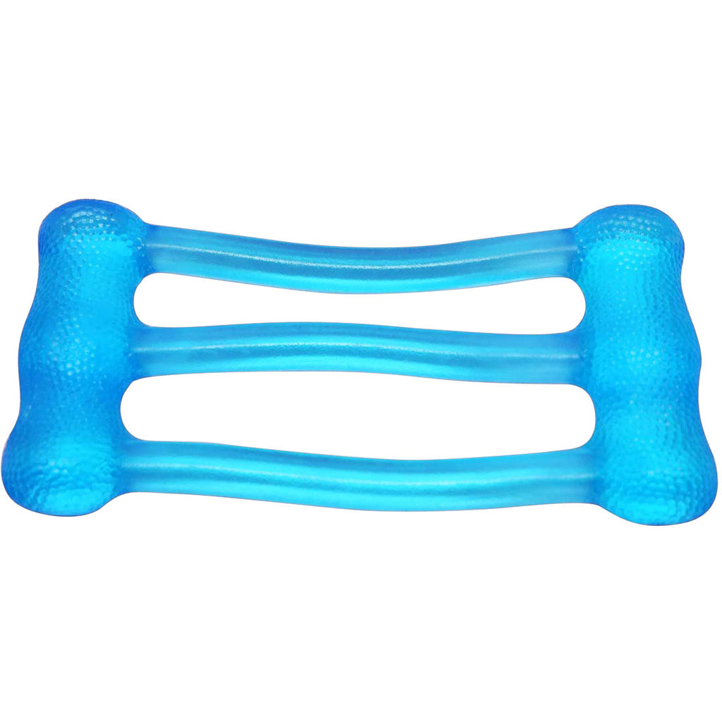 CanDo® Jelly™ Expander Triple Exerciser - blue - heavy