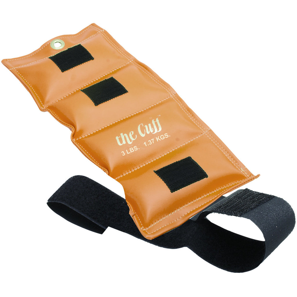 The Original Cuff® Ankle and Wrist Weight - 3 lb - Gold