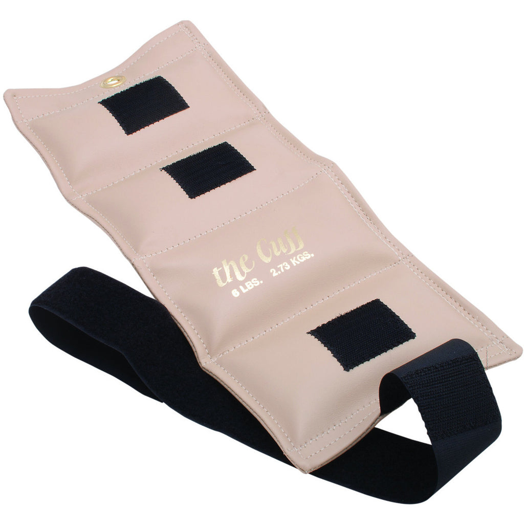 The Original Cuff® Ankle and Wrist Weight - 6 lb - Beige